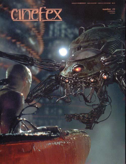 cinefex 日本語版Vol.23 マトリックス特集