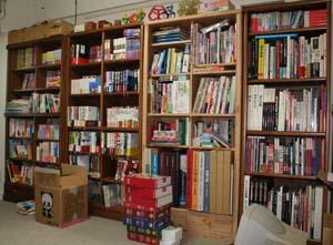 書斎の本棚右