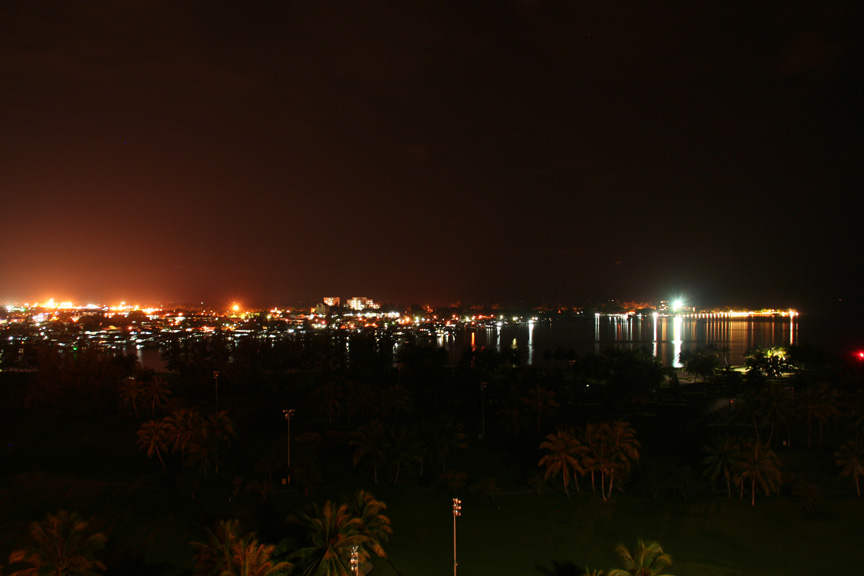 コタキナバルの夜景