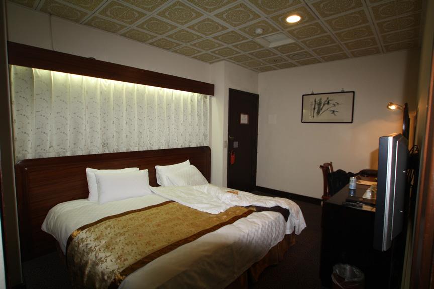 圓山大飯店の室内